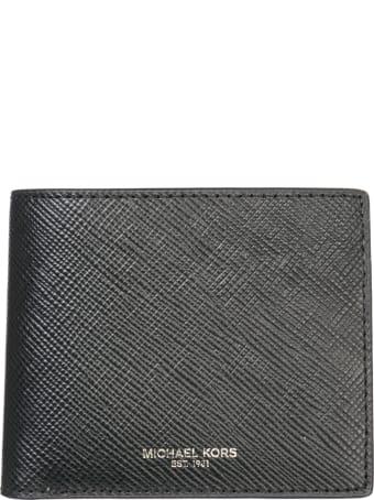 Michael Kors  Genuine Leather Wallet Credit Card Bifold Harrison