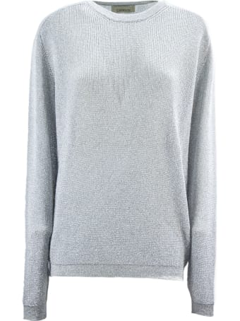 Laneus Silver-tone Classic Knit Sweater