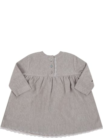 "Caffe' d'Orzo Beige ""edvige"" Dress For Babygirl"