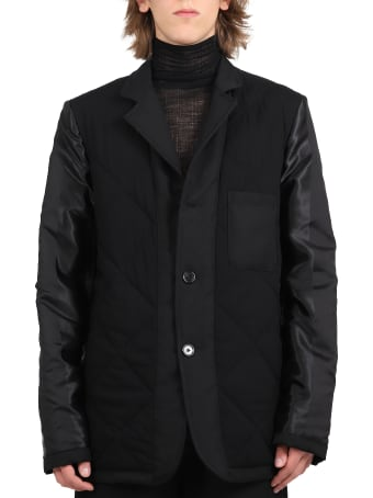 Ann Demeulemeester Black Jacket