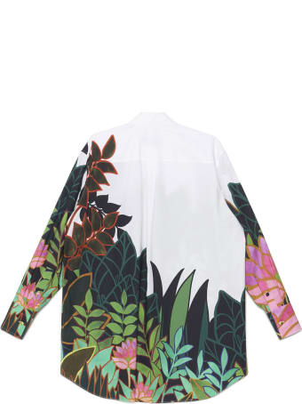 Valentino 'panther In The Jungle' Shirt