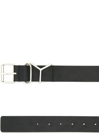 Y/Project Classic Y Leather Belt