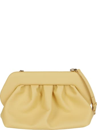 THEMOIRè Yellow Faux-leather Clutch Bag