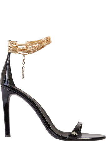 Giuseppe Zanotti Patent Sandals
