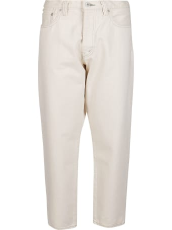 Ma'ry'ya White Cotton Jeans