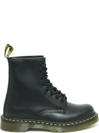 Dr. Martens 1460 Black Smooth Leather Boots