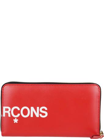 Comme des Garçons Wallet Red Leather Wallet