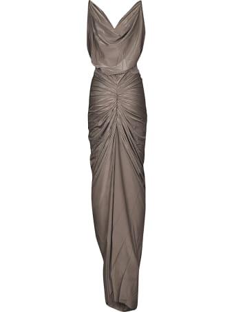 Rick Owens Lilies Sleeveless Gown Dress