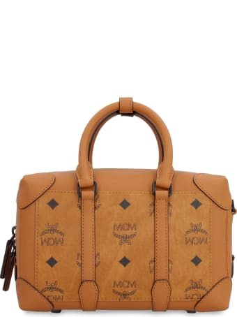 MCM Soft Berlin Visetos Handbag