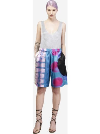 Dries Van Noten Pomar Long Shorts