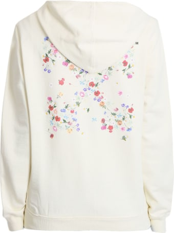 Off-White Ivory Cotton Hoodie