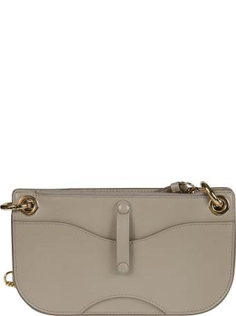 Chloé Chain Leather Strap Shoulder Bag