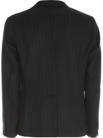 Barena Toppa Filotto Destructed Pinstriped Jacket
