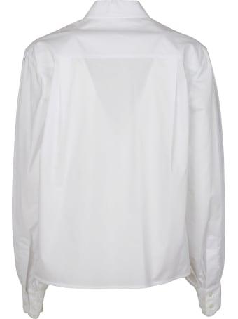 Ermanno Ermanno Scervino Floral Embroidered Cropped Shirt