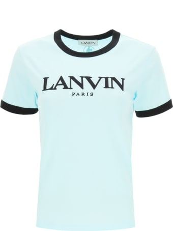 Lanvin T-shirt Logo Embroidery
