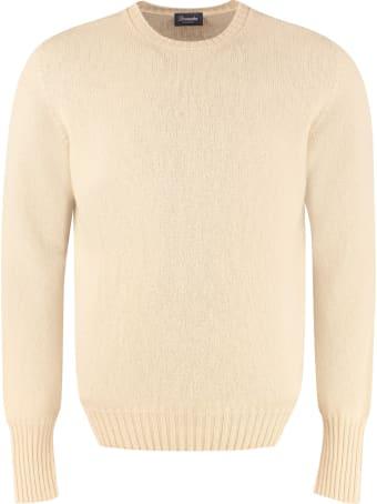 Drumohr Long Sleeve Crew-neck Sweater