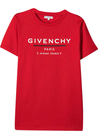 Givenchy Red T-shirt Teen Givenchy