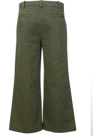 Aspesi Flared Cropped Jeans
