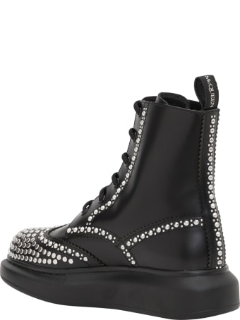 Alexander McQueen Ankle Boots With Studs