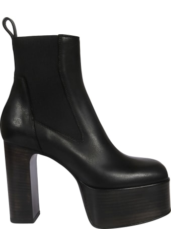 Rick Owens Elastic Kiss Ankle Boots