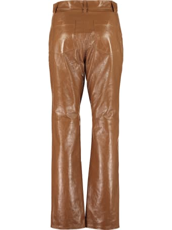 ALEXACHUNG Leather Pants