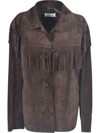Maison Margiela Fringe Applique Jacket
