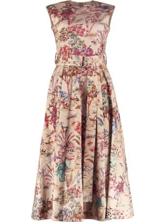 MSGM Printed Cotton Dress