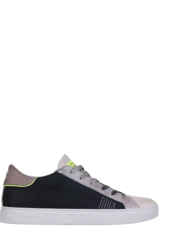 Crime london Sneakers In Suede And Leather