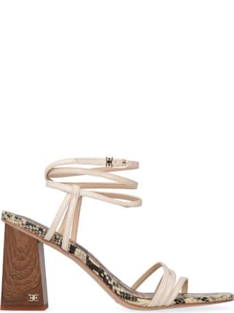 Sam Edelman Doriss Heeled Leather Sandals