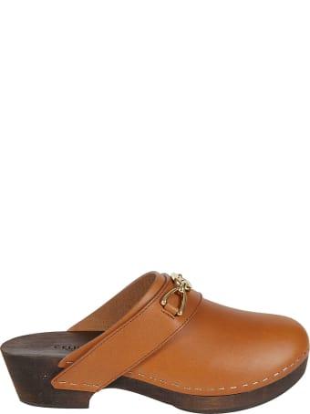 Celine Plaque Sandals