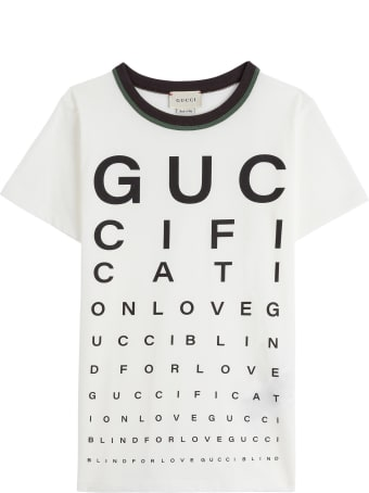 Gucci Jersey T-shirt With Print