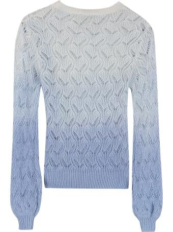 L'Autre Chose Gradient Effect Sweater
