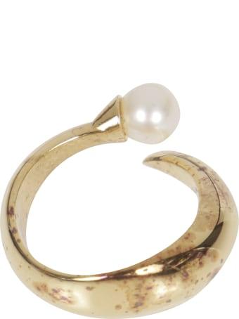 Alan Crocetti Pearl Detail Ring