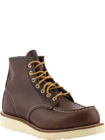 Red Wing Classic Boot Brown Moc Briar Oil