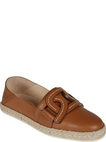 Tod's Gommino Raffia Loafers