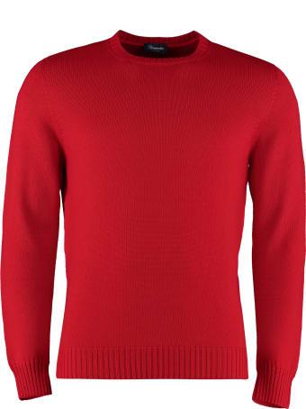 Drumohr Crew-neck Wool Sweater