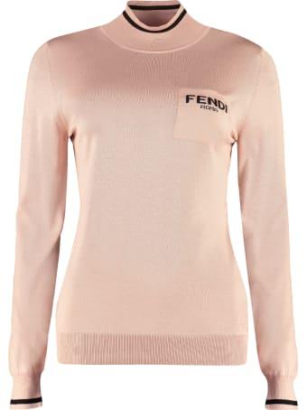 Fendi Long Sleeve Turtleneck