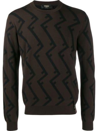 Fendi Pattern Roof Sweater