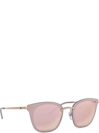 Emporio Armani Emporio Armani Ea2075 Rose Gold Sunglasses
