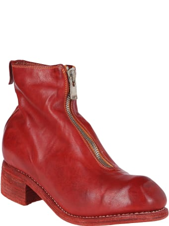 Guidi Red Horse Leather Boots