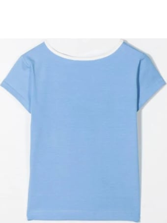 MiMiSol T-shirt With Contrasting Collar