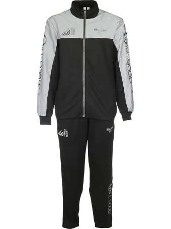 Sergio Tacchini Pannelled Track Suit