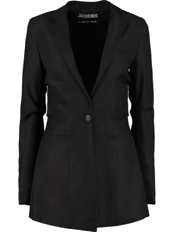 Jacquemus Bergamo Single-breasted Viscose Blazer