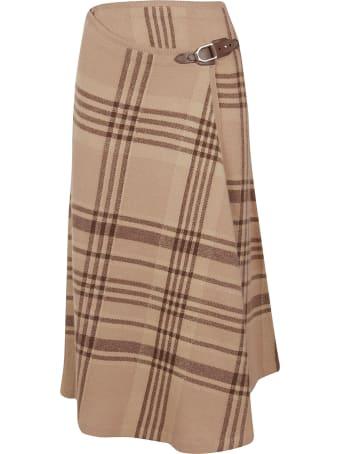 Ralph Lauren Black Label Wrap Skirt