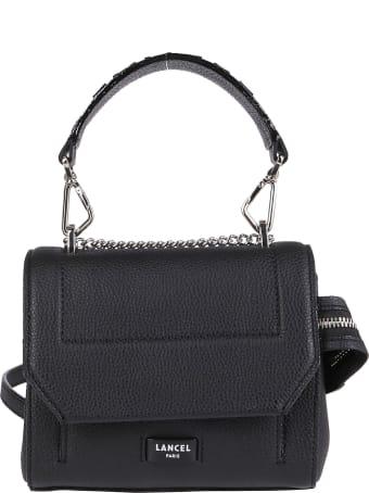 Lancel Logo Handle Shoulder Bag