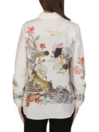 Etro White Ramie Shirt