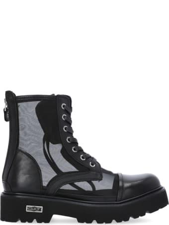 Cult Leather Slash Sandal