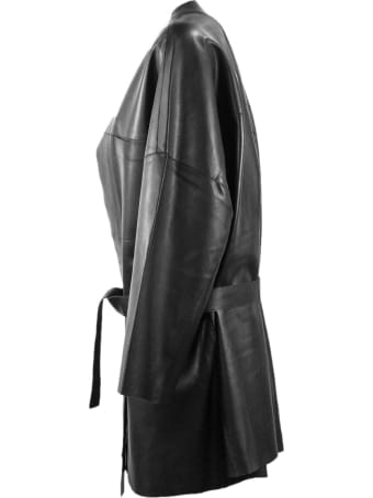 S.W.O.R.D 6.6.44 Black Leather Jacket