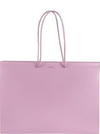 Medea Dual Handle Logo Detail Tote