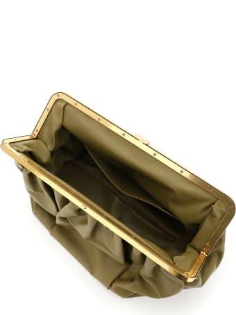 Mansur Gavriel Wave Frame Clutch Bag